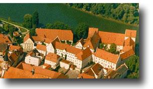 Herzogschloss aus der Luft